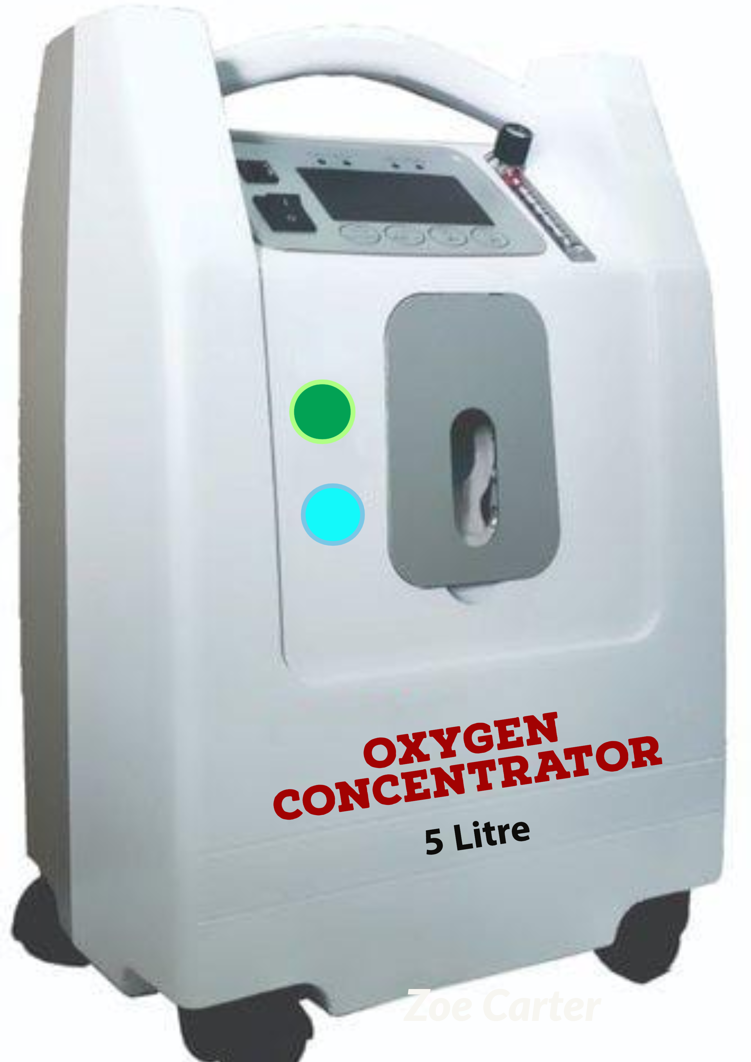 how does an oxygen concentrator work